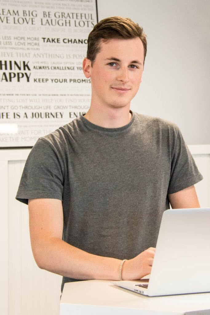 Nicolas, onze digital strategy expert gebruikt data om jouw online marketingstrategie op te stellen.